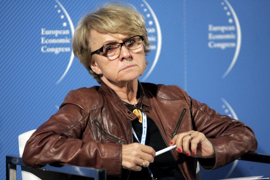 prof. Danuta Hübner. fot. PTWP