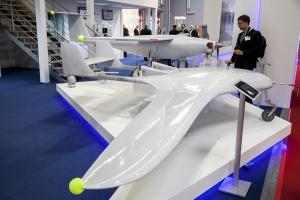 Drony prezentowane na MSPO 2014