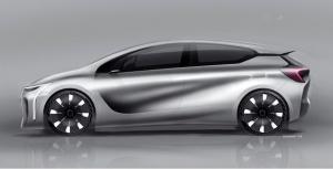 Renault EOLAB na nowych oponach. fot. Michelin