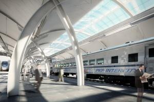 Tak będzie wyglądał nowy dworzec w Gliwicach