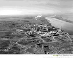 Rysunek 1. Ośrodek badań jądrowych Hanford