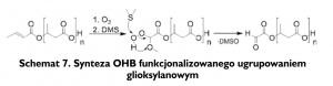 Schemat 7. Synteza OHB funkcjonalizowanego ugrupowaniem glioksylanowym