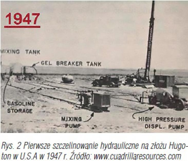 Zdjęcie numer 2 - galeria: Historia szczelinowania hydraulicznego i proppantów oraz analiza rynku proppantów