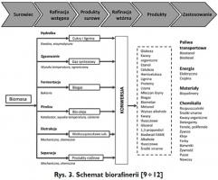 Rys. 3. Schemat biorafinerii [9÷12]