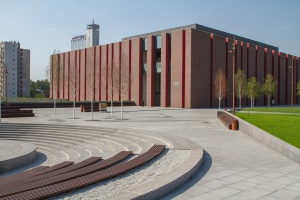 Nowa siedziba NOSPR w Katowicach, zaprojektowana przez Tomasza Koniora, którą wybudowano na terenie byłej kopalni Katowice. Fot. UM Katowice