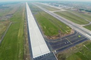 Nowa droga startowa na lotnisku Katowice