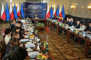 Zdjęcie numer 1 - galeria: Wyjazdowe posiedzenie rządu w Katowicach