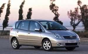Corolla Verso z 2001 r. fot. Toyota