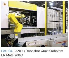 Fot. 13. FANUC Roboshot wraz z robotem LR Mate 200iD