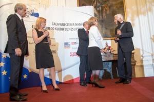 Zdjęcie numer 1 - galeria: Nagrody Europejskiego Klubu Biznesu Polska