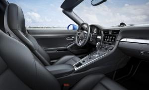 Wnętrze Porsche 911 Targa 4S. fot. Porsche