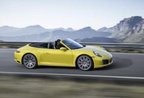 Porsche 911 Carrera 4S Cabriolet. fot. Porsche