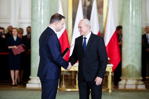 Krzysztof  Tchórzewski jest już ministrem energii