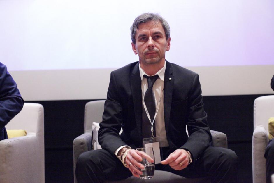 Mariusz Kabziński - dyrektor Galerii Olimpia