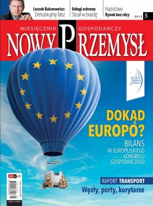 Magazyn Gospodarczy Nowy Przemysł 05/2015