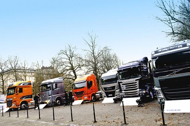 Europejski popyt na ciężarówki stale wzrasta