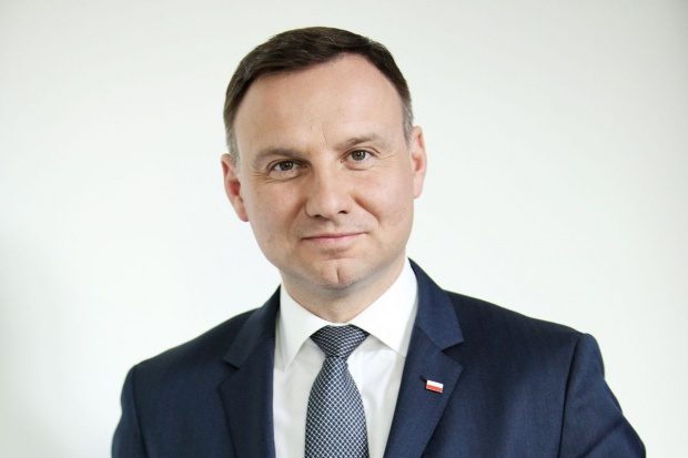 Prezydent Andrzej Duda na Barbórce w Bełchatowie