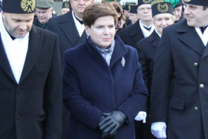 Szefowa rządu, Beata Szydło, uczestniczyła w piątek przed południem w uroczystościach barbórkowych w Libiążu.