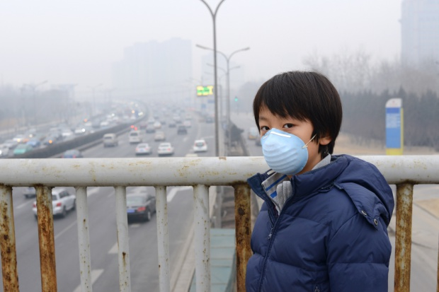 Smogowy alert na północy Chin
