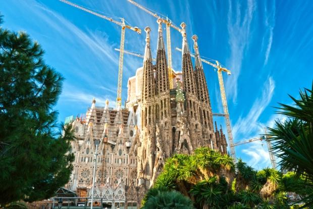 Outokumpu na budowie La Sagrada Familia