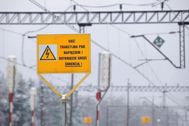 Kradzież sieci trakcyjnej nas Śląsku. Są utrudnienia