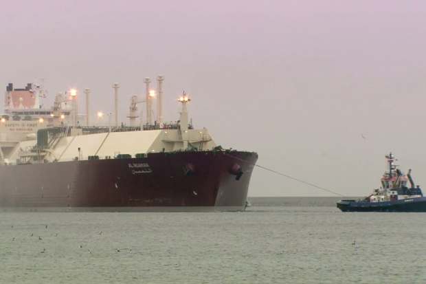 Historyczny ładunek LNG w Świnoujściu