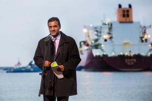 Prezes Qatargas Khalid Bin Khalifa Al-Thani. Fot. Mat. pras.