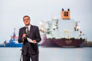 Jan Chadam, prezes Gaz-Systemu i Polskiego LNG. Fot. Mat. pras.