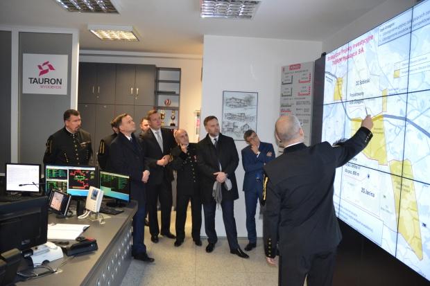 Prezydent Andrzej Duda odwiedził kopalnię Taurona