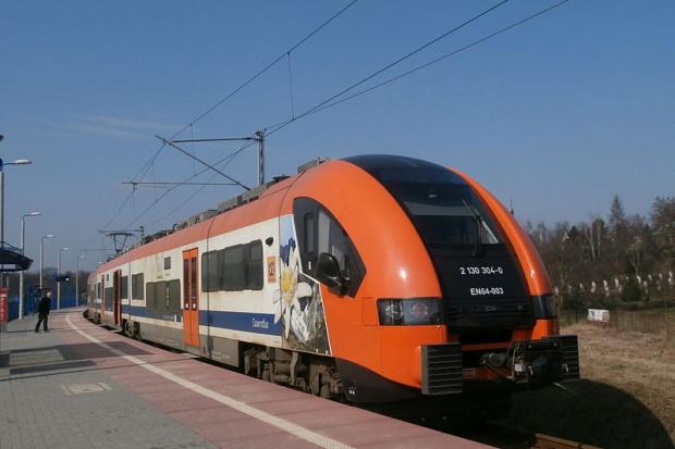 Koleje Małopolskie kursują po drugiej nitce Szybkiej Kolei Aglomeracyjnej