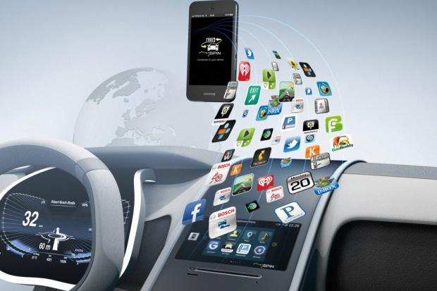 Bosch mySPIN integruje smartfony z samochodem