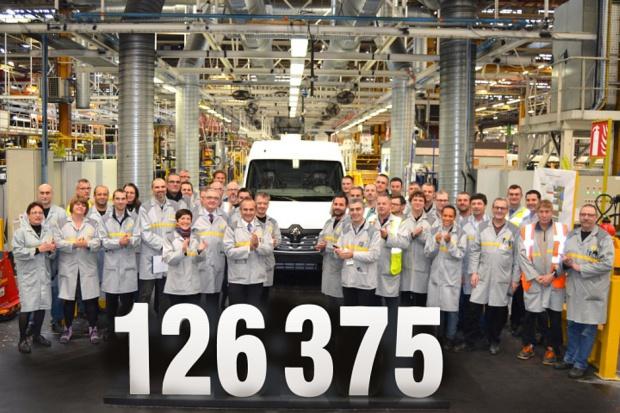 Mały jubileusz w fabryce Renault