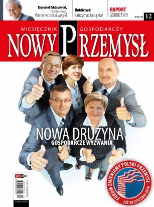 Magazyn Gospodarczy Nowy Przemysł 12/2015