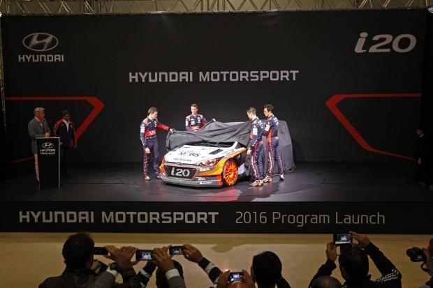 Hyundai przygotował nową rajdówkę WRC