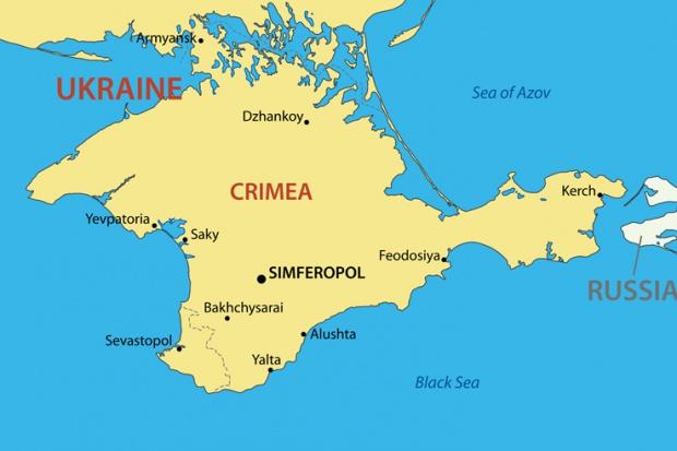 Znaczna część Krymu bez prądu w sylwestra