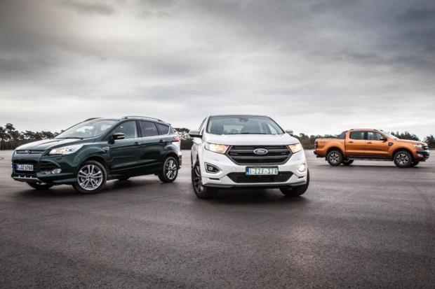 Ford wróży wzrosty dla napędu 4x4