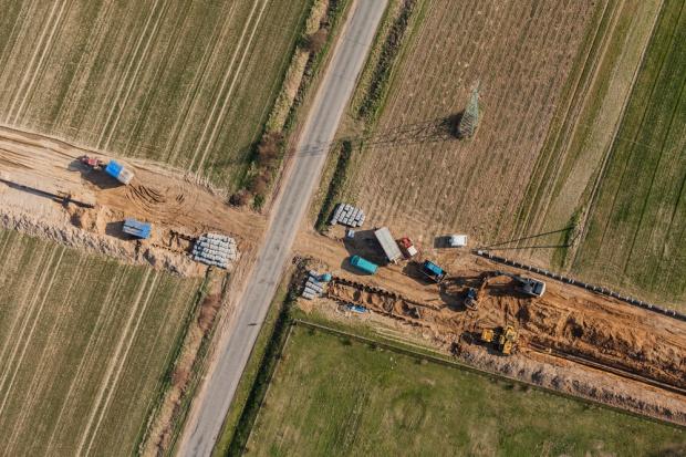 Są pozwolenia na budowę dwóch gazociągów za mld zł