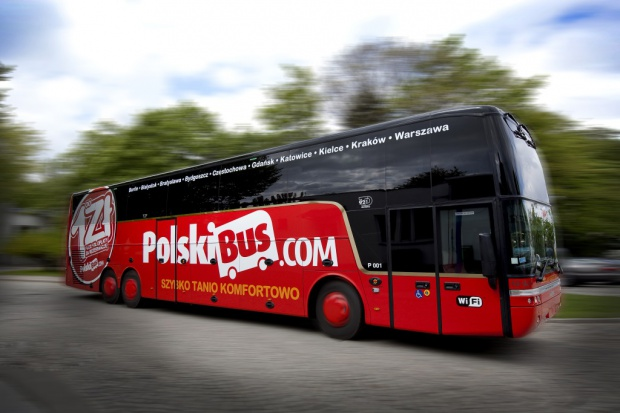 PolskiBus.com: 16 mln pasażerów w 55 miesięcy