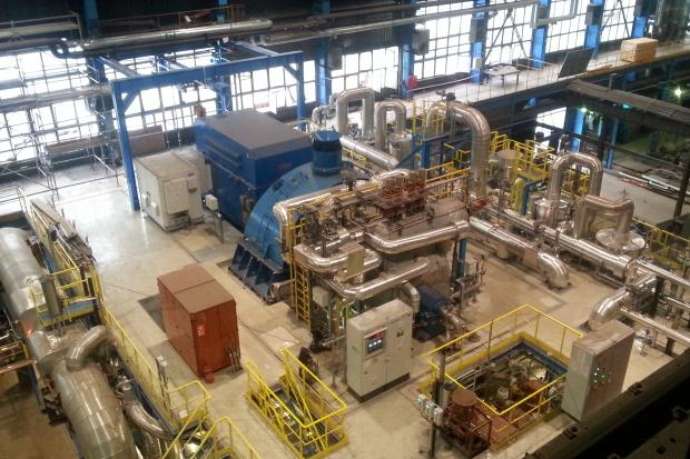 Nowy turbogenerator w ArcelorMittal w Dąbrowie Górniczej