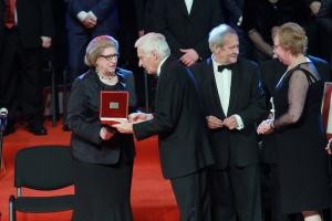 Diamentowy Laur otrzymała Hanna Suchocka – była premier, minister sprawiedliwości i ambasador RP przy Stolicy Apostolskiej.