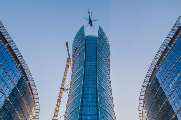 Warsaw Spire osiągnął docelową wysokość 220 metrów