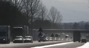 W tym regionie zima już utrudnia życie kierowcom