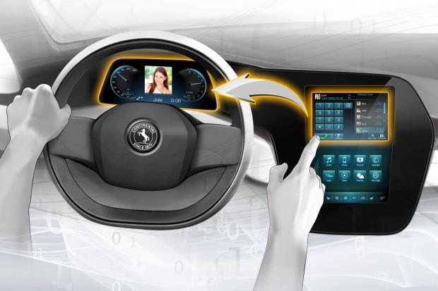 Wyposażenie przyszłości wg Continental