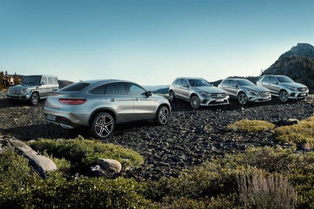 Wzrostowy rok Mercedes-Benz