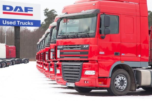 Nowe centrum używanych ciężarówek DAF