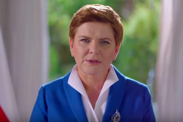 Beata Szydło na podpisaniu porozumienia klimatycznego w USA