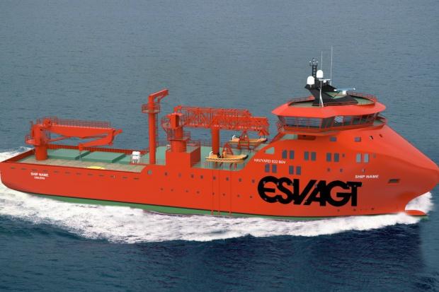W stoczni Nauta zwodowano statek do obsługi farm wiatrowych