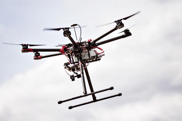 Drony w Narodowym Centrum Badań Jądrowych