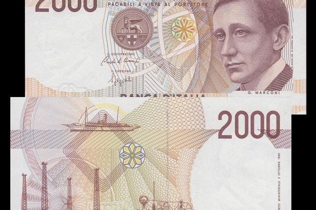 Niektórzy Włosi znów mogą wymienić liry na euro