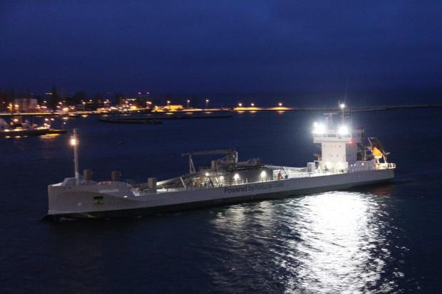 Gdynia uruchomi terminal paliwowy dla statków napędzanych LNG?